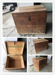 【古董】古早味 皮箱 木箱 復古手提箱 仿古手提箱 歡迎來店參觀 便宜賣 價格面談 - 露天拍賣