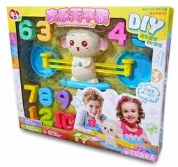 (現貨) 歡樂天秤猴 猴子天秤 數字遊戲 DIY遊戲 智力玩具 兒童桌遊 天秤數學遊戲 智力天秤玩具 天秤兒童蒙氏 ...