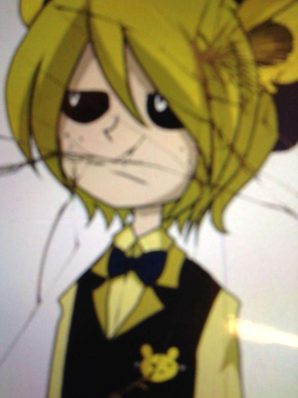 Nightmare Golden Freddy X Reader