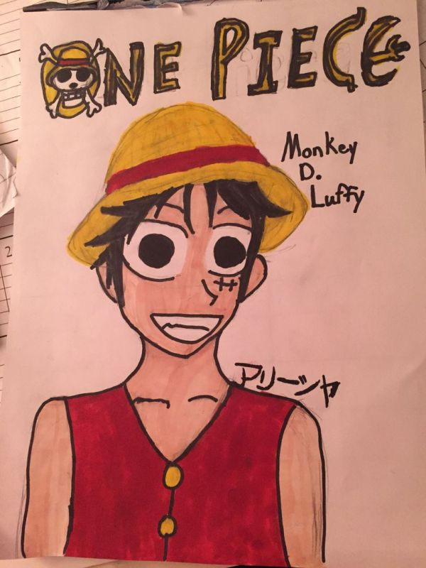 Luffy X Animal Reader