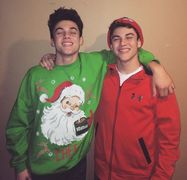Dolan Twins Imagines Spending The Holidays With Him