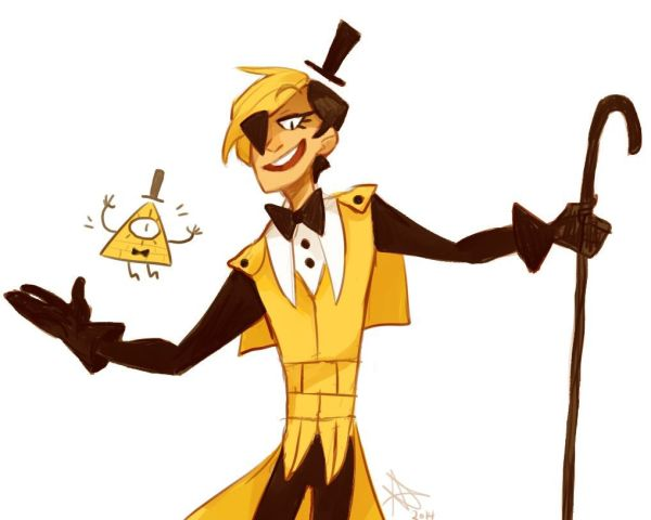 Bill Cipher Human Demon - Year of Clean Water