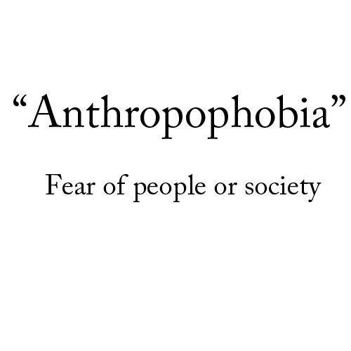 tumblr definitions anthropophobia wattpad