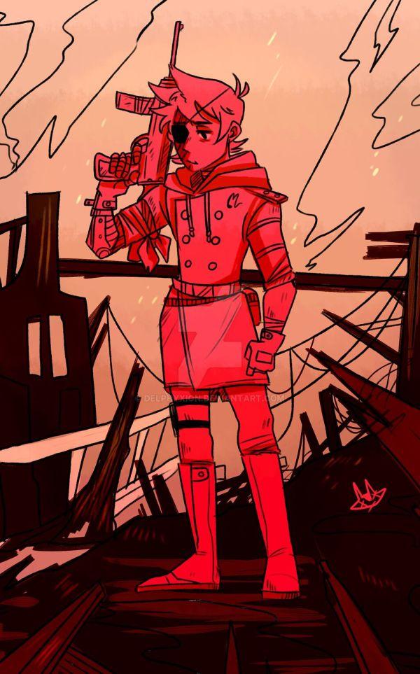 Eddsworld Tord As Red Leader - Exploring Mars