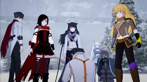 Chosen Male Reader X Rwby Harem Chapter 1 - Year of Clean Water