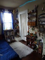 room decor witchy witch bedroom witchcraft apartment witches wiccan rooms wicca dorm living cottage bedrooms diy inspiration story pagan side
