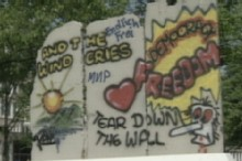 Parts of Berlin Wall Scattered Around the World