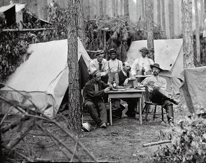 Officers of the 114th Pennsylvania Infantry Regiment ...