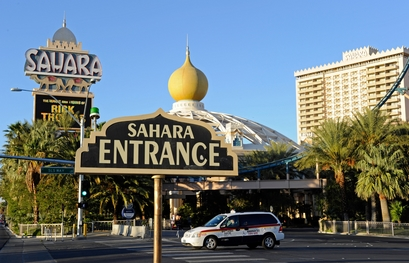 A general view of the Sahara Hotel  Casino ...