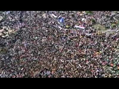 One million protesters in Egypt
