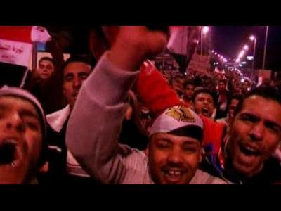 Egypt protesters target palace