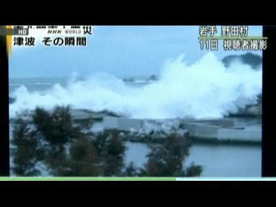 Amateur video captures Tsunami horror