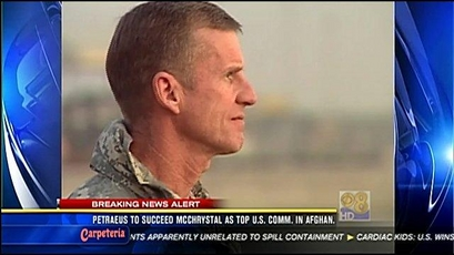McChrystal out; Petraeus picked for Afghanistan