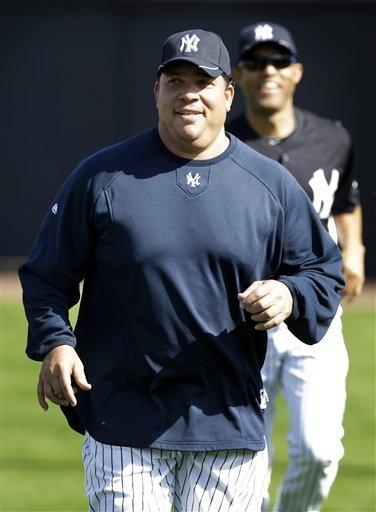 New York Yankees Pitcher Bartolo Colon Runs