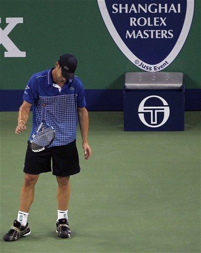 American Andy Roddick Throws