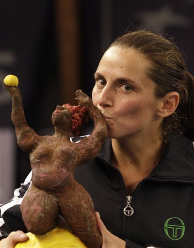 Italy's Roberta Vinci Shows