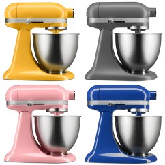 Commercial Kitchen Aid Mixer Round Table For 6 New Colors | Get The Scoop And Dish It Out