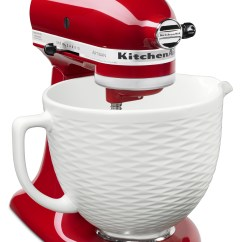 Kitchen Aid Mixing Bowls Wall Organizer New Colors Get The Scoop And Dish It Out