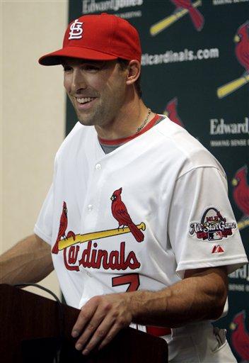 DeRosa Cardinals Baseball