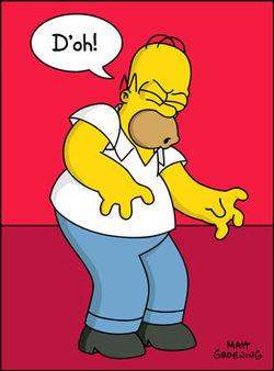 Homer Simpson Doh
