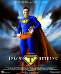 Failure sees Tebow and runs the other way