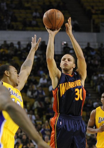 Curry didn't shoot well in the preseason, but he'll find his stroke.