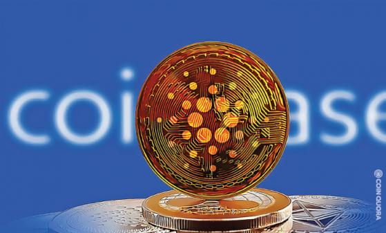 Coinbase Mentions Cardano (ADA) As One of the Biggest Crypto
