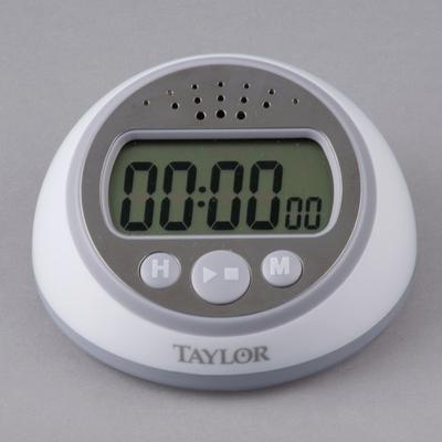 taylor kitchen timer vinyl 5873 extra loud digital with clock from 8 99