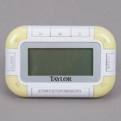 Taylor Kitchen Timer Knife Holder 5873 Extra Loud Digital With Clock From 8 99 5862 4 Channel Pocket