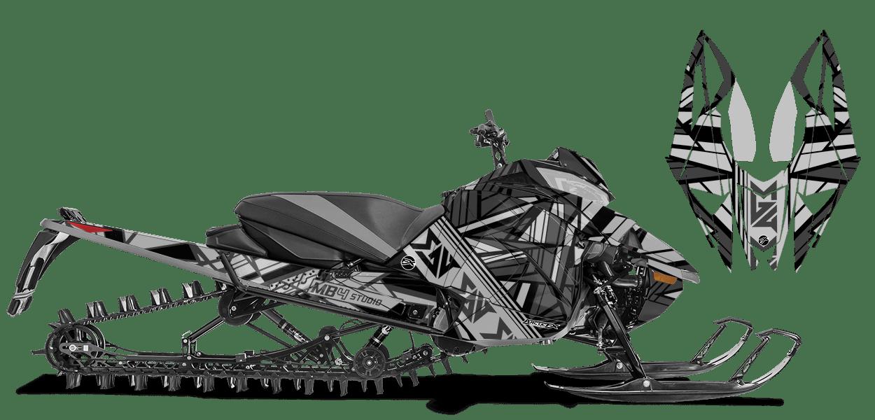 Mb4 Mayhem Custom Design for Arctic Cat NEXT-GEN-ASCENDER
