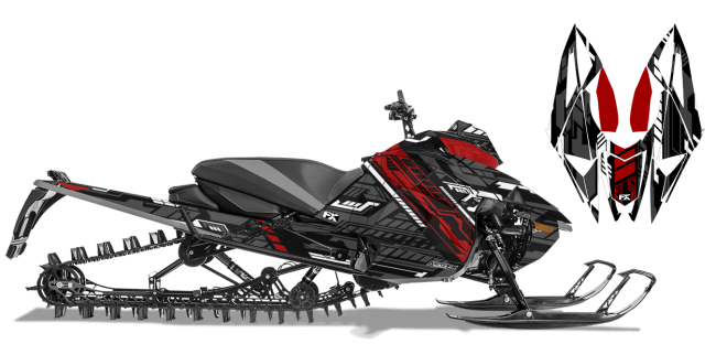 Graphic kits and Wraps for Sidewinder