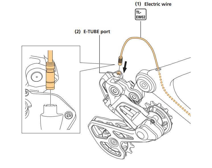 Shimano RD-RX817 Shadow Rear Derailleur+ 1x rear