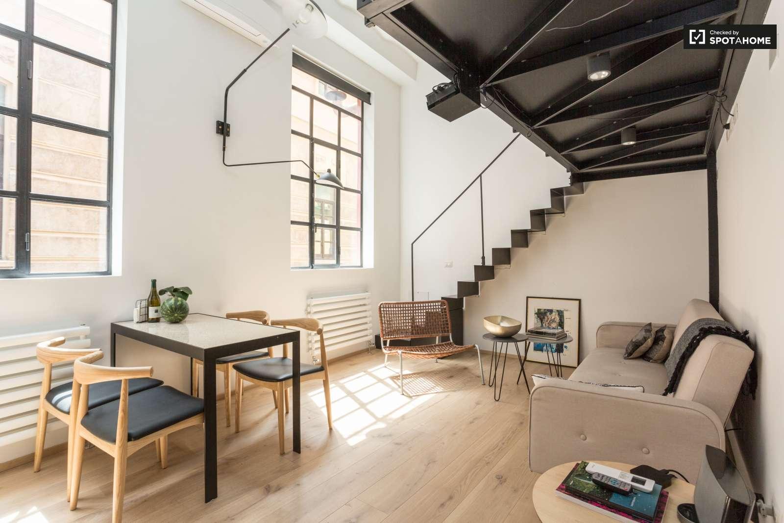Studio apartment with mezzanine for rent in Garibaldi Milan ref 132767  Spotahome