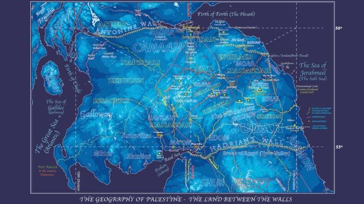 Blue Map 150ppi