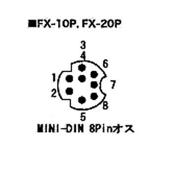 Sequencer Connecting Cable for FX-10 P/FX-20P Mitsubishi