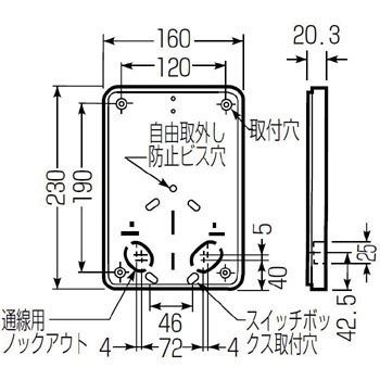 Watt-Hour Meter And Meter Box Mounting Plate MIRAI