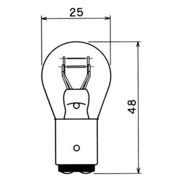 Brake Light, Tail Light, Signal Light, Parking Lamp 6V