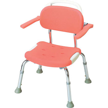 shower chair malaysia minnie table and set compact soft with armrest richell backrest