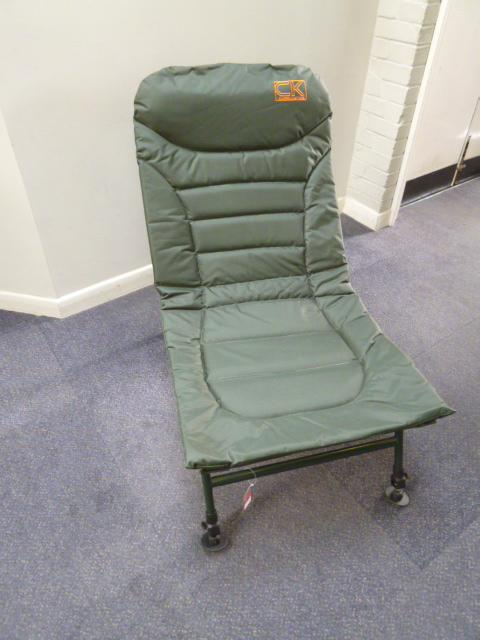 green fishing chair antique koken barber for sale w h peacock carp kinetics big dad online