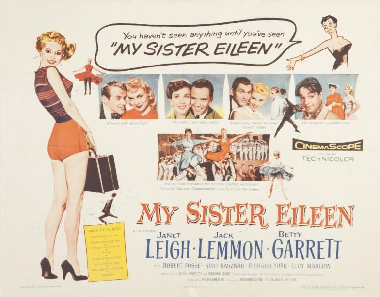 Image result for my sister eileen 1955
