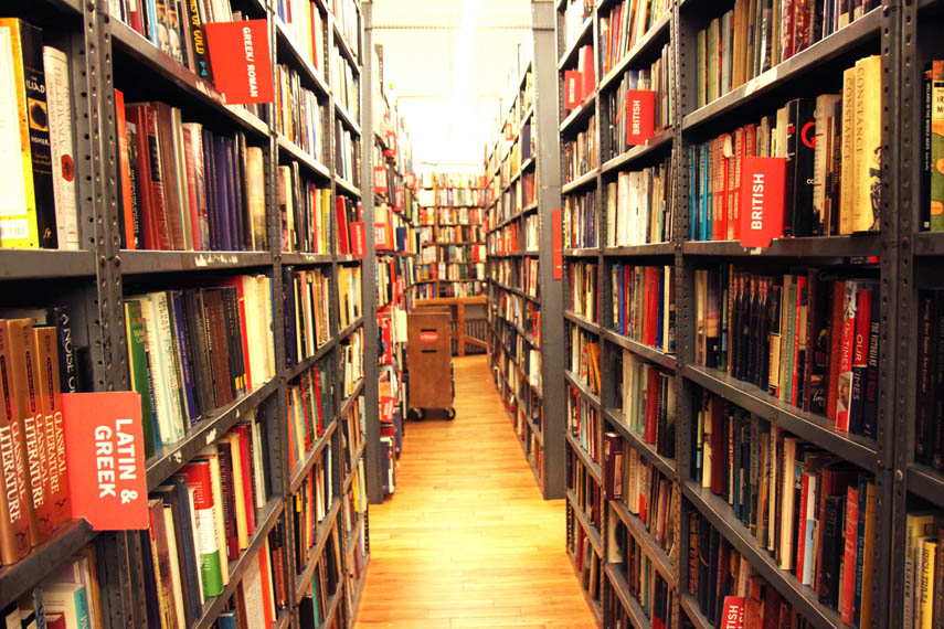 Strand Book Store  Manhattan Sideways