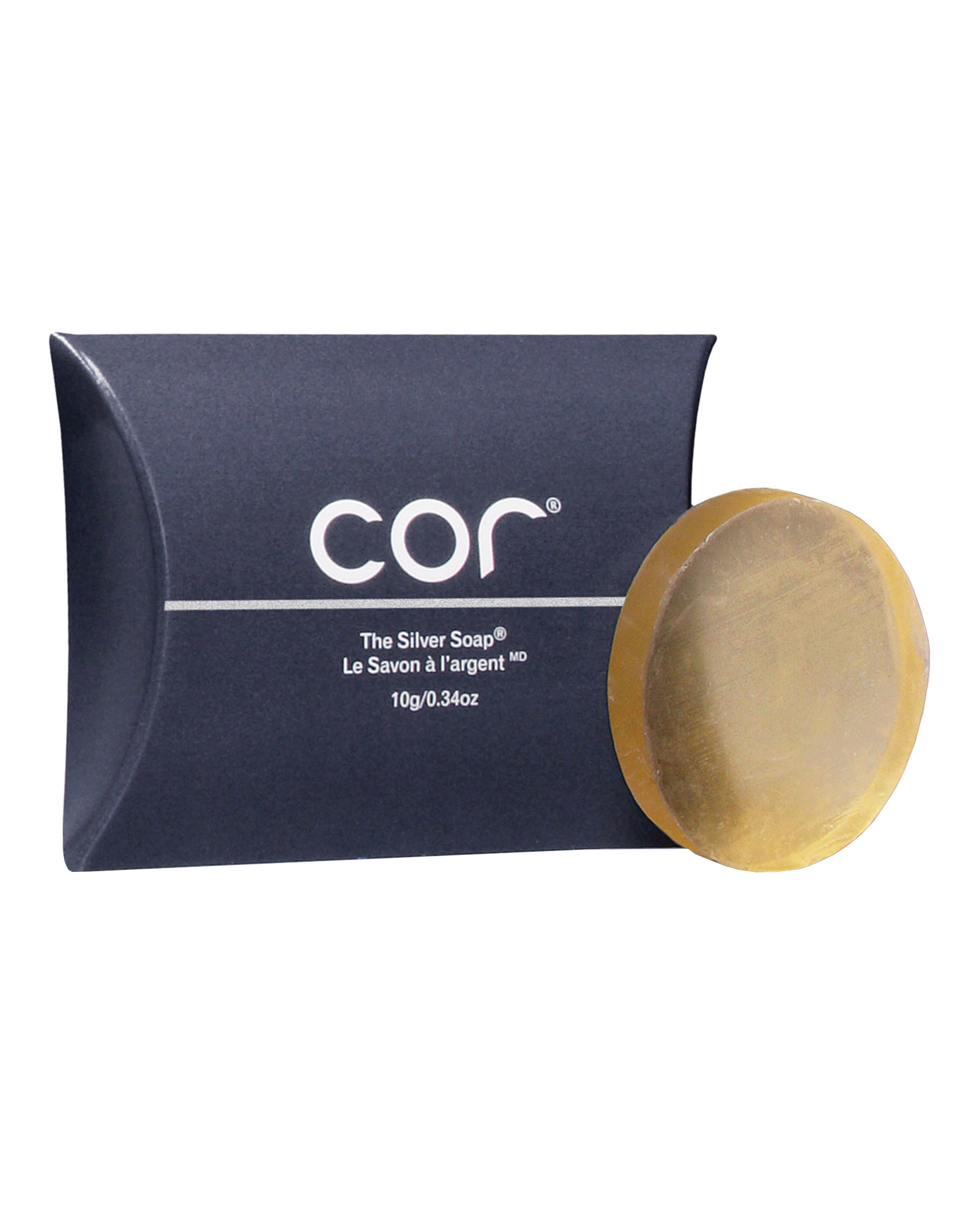cor silver soap by