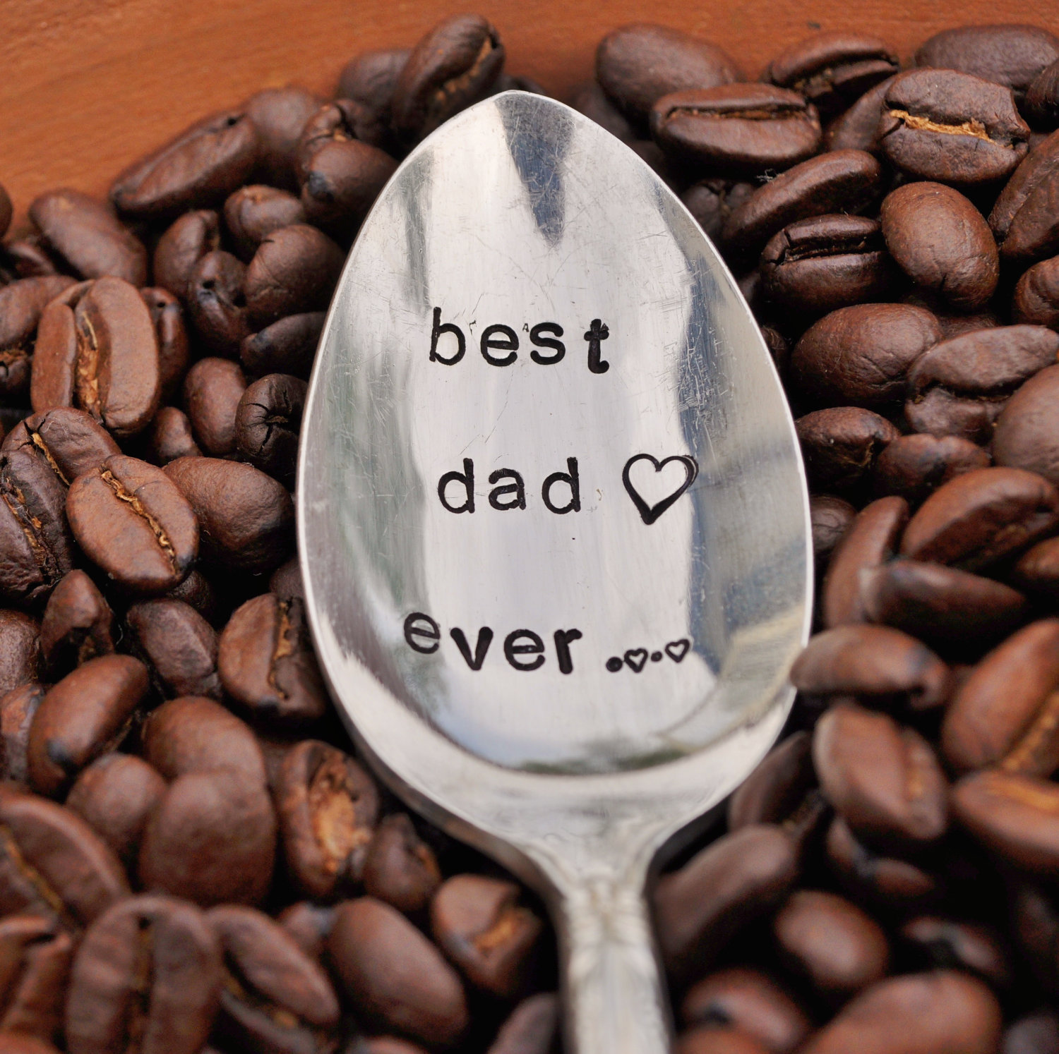 Best Dad Ever Coffee Spoon