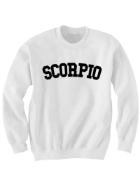 SCORPIO SWEATSHIRT TEAM SCORPIO SHIRT ZODIAC SIGN SHIRTS ...