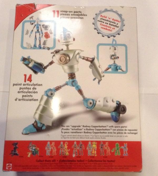 "Robots Rodney Copperbottom Action Figure 12"" Mattel"