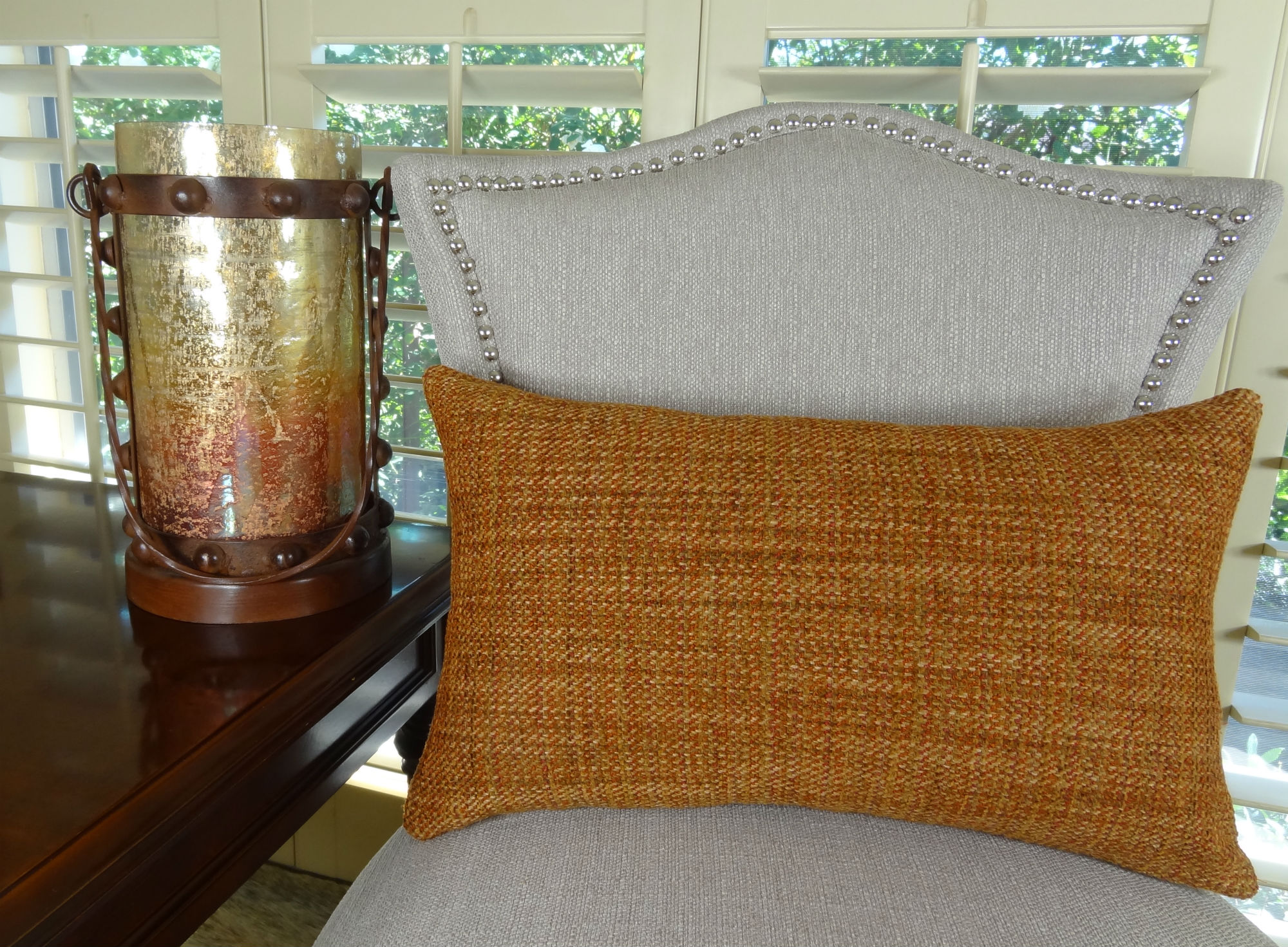 luxury sofa throw pillows rattan corner set cover 18 quot x designer decorative pillow orange