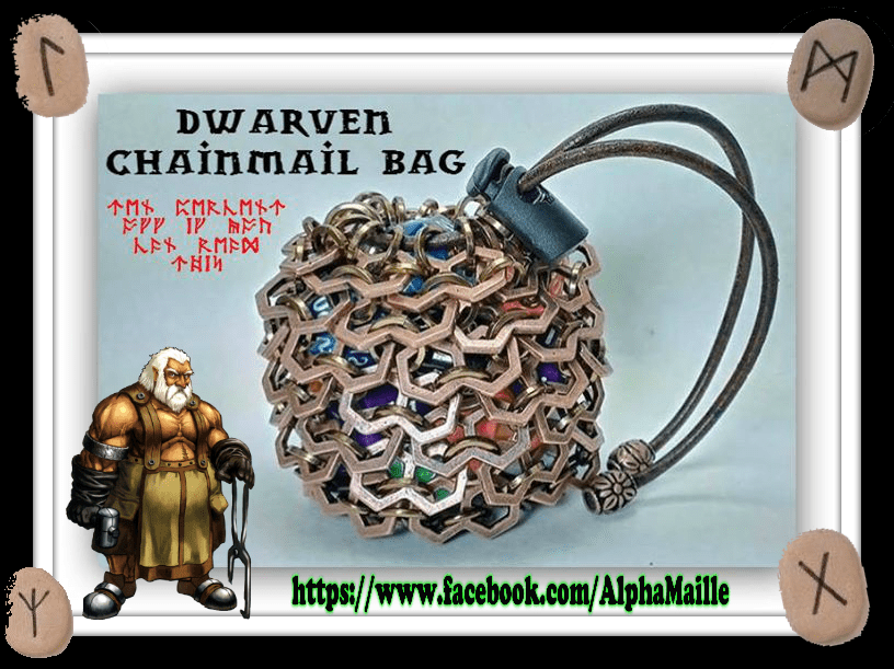 dwarven chainmail bag from