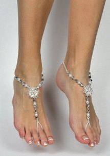 Beach Wedding Barefoot Sandals Foot Jewelry