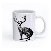 Jackalope Coffee Mug, Jackalope cup, Gift Idea.. on Storenvy