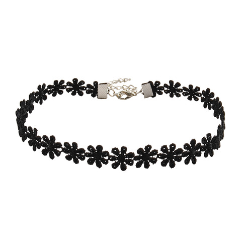 Black Lace Flower Choker Necklace Fashion Jewelry on Storenvy
